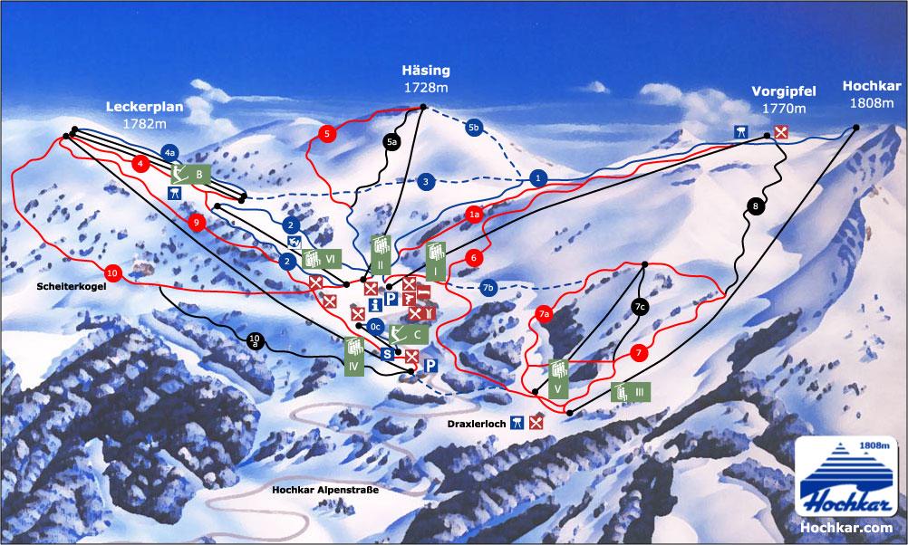 mapa hochkaru